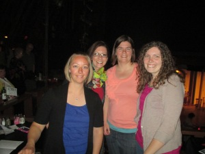 Ember, me, Julie, and Shannon