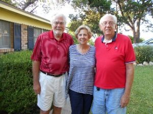 The 3 Hubbard children: Dad, Aunt Ila, and Uncle Tom