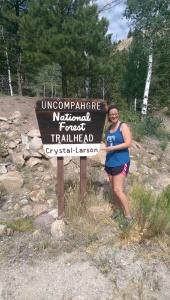 "Crystal-Larson Trail ""Head"""